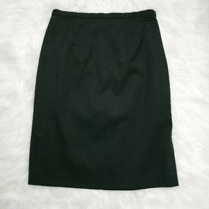 Old Navy Grey Skirt Side Button and Zipper